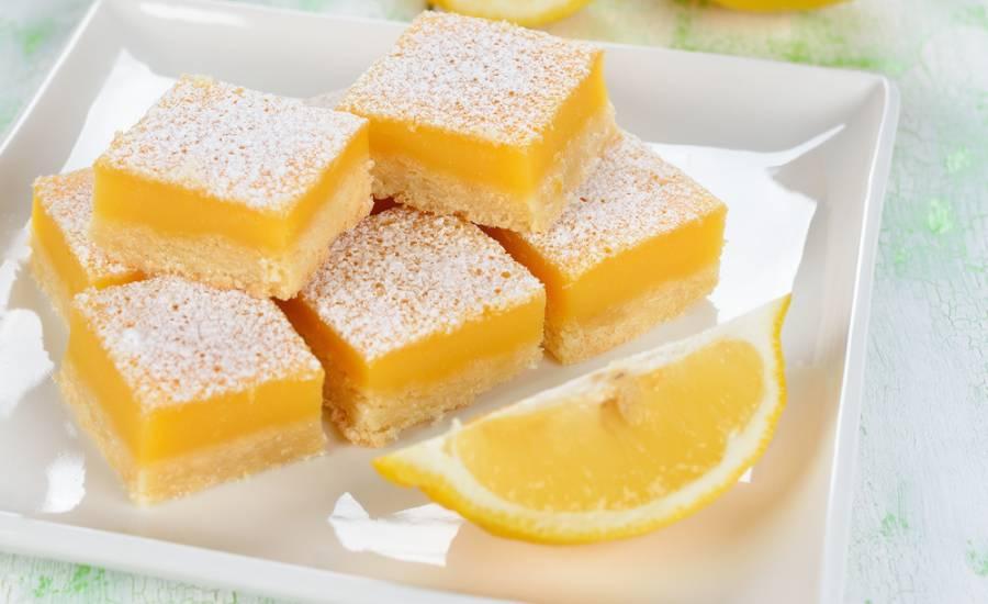 TounsiaNet : Carrés au citron