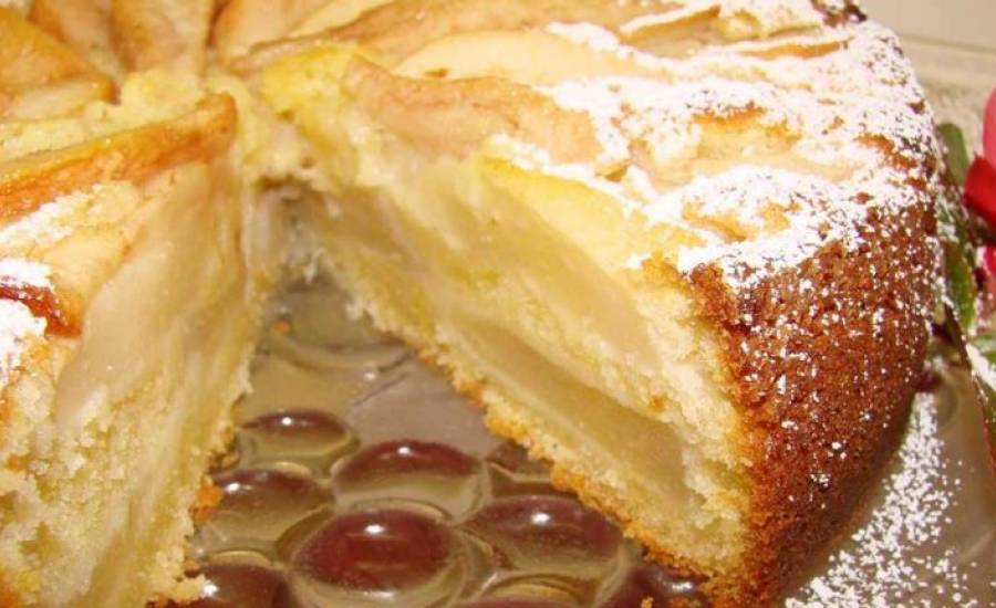 TounsiaNet : Gâteau Fondant aux Poires