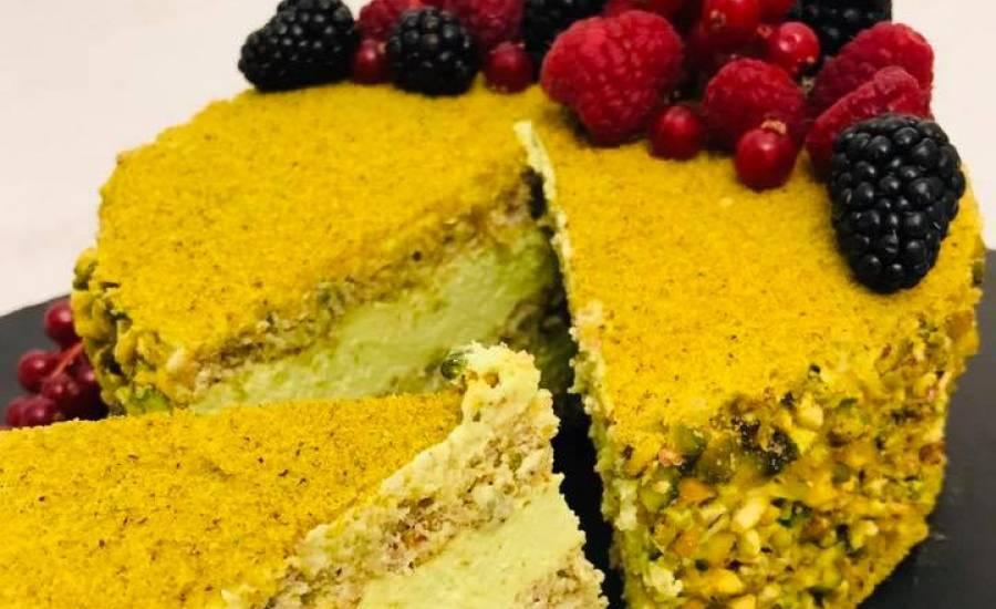 TounsiaNet : Gâteau au pistache