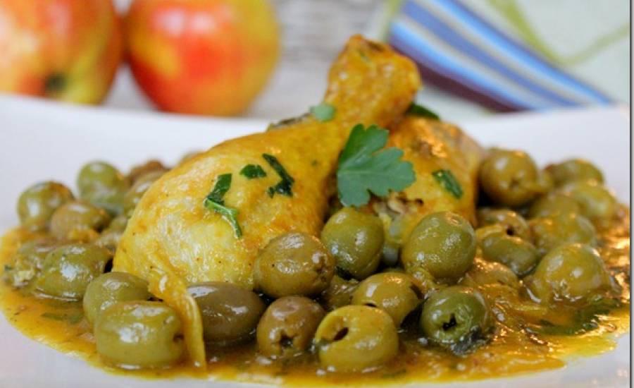 TounsiaNet : Poulet aux olives
