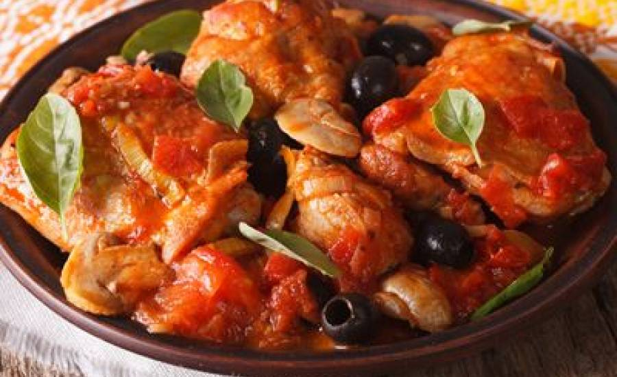 TounsiaNet : Poulet provençal