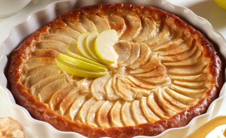 TounsiaNet : Tarte aux pommes