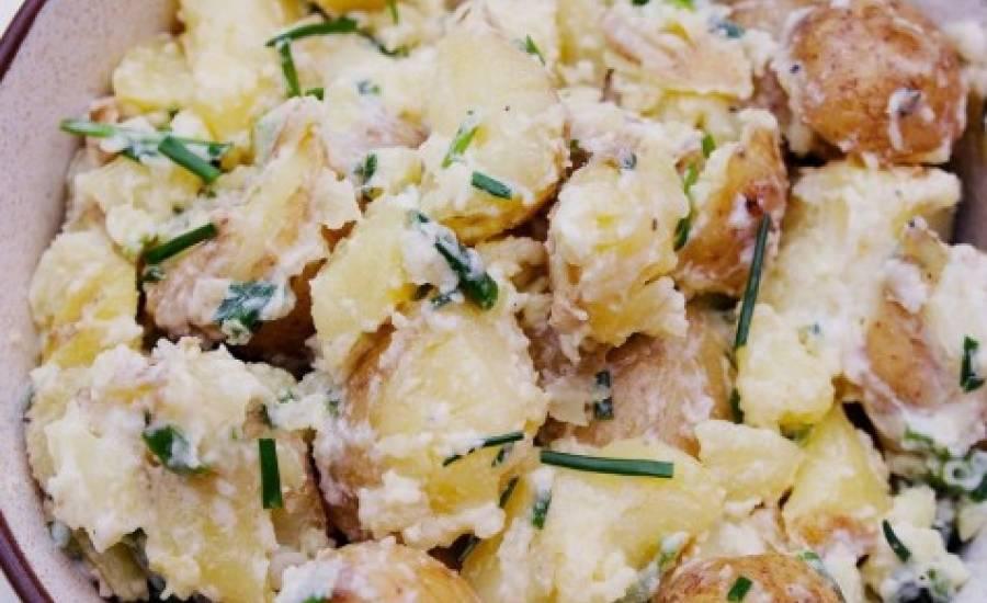 tounsia.Net : Salade romaine de pomme de terre