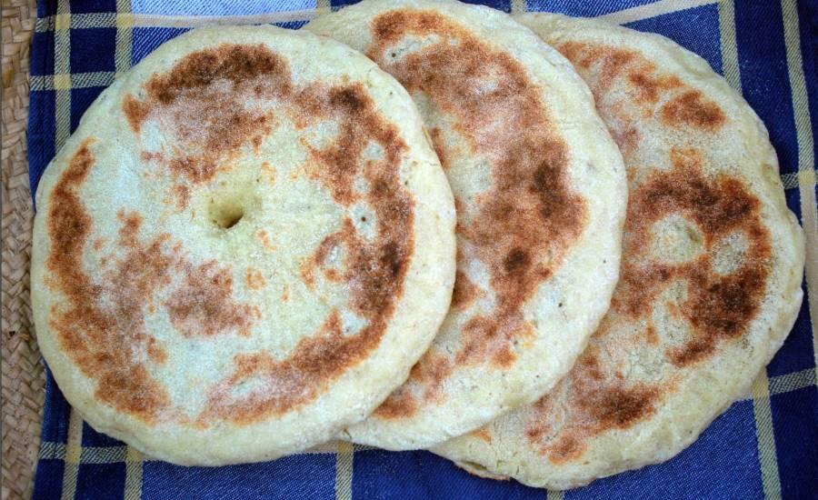 TounsiaNet : Pain Algérien (Khobz Tajine Algérien)