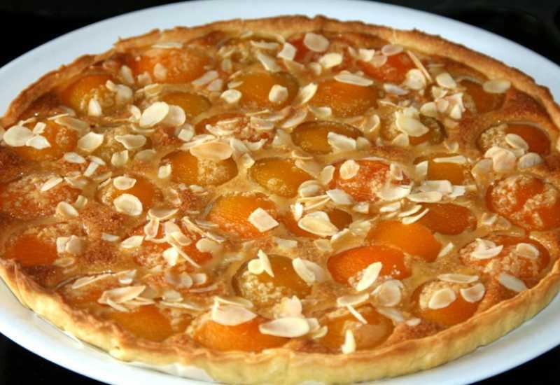 tounsia.Net : Tarte aux abricots et amandes