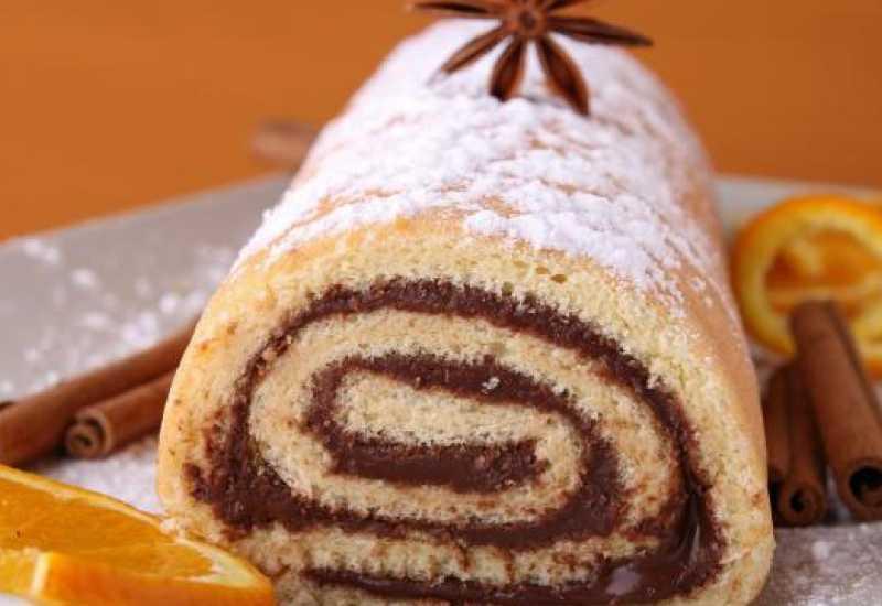 tounsia.Net : gâteau roulé au chocolat