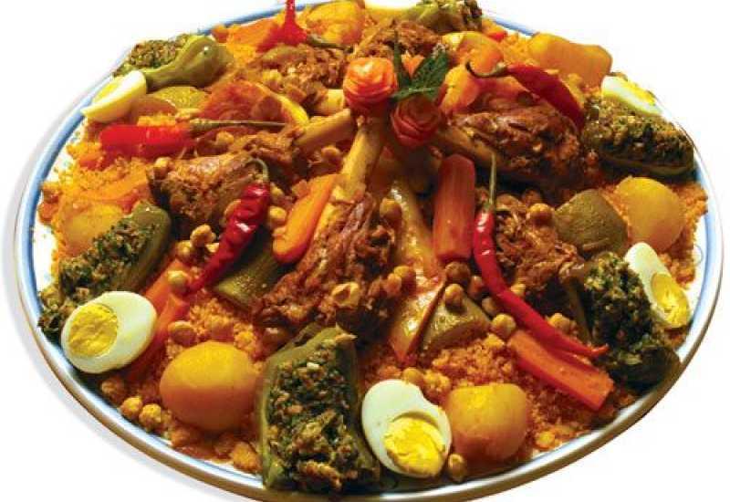 tounsia.Net : couscous traditionnel à la viande de veau