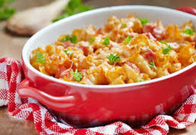 tounsia.Net : Gratin de macaroni à la bolognaise