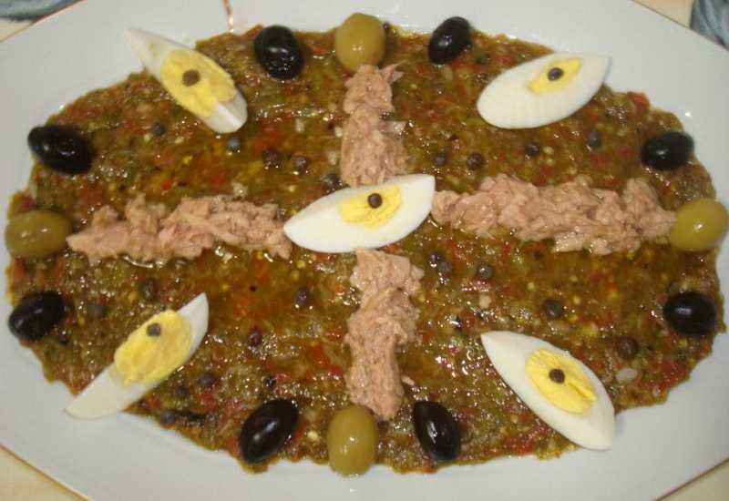 tounsia.Net : Salade Mechouia