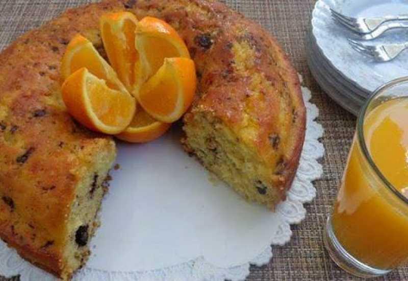 tounsia.Net : gâteau à l'orange