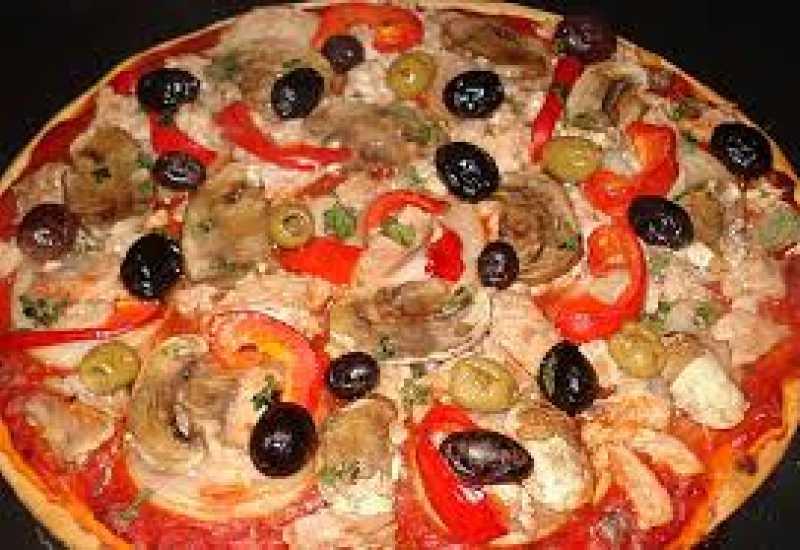 tounsia.Net : pizza au thon et champignon