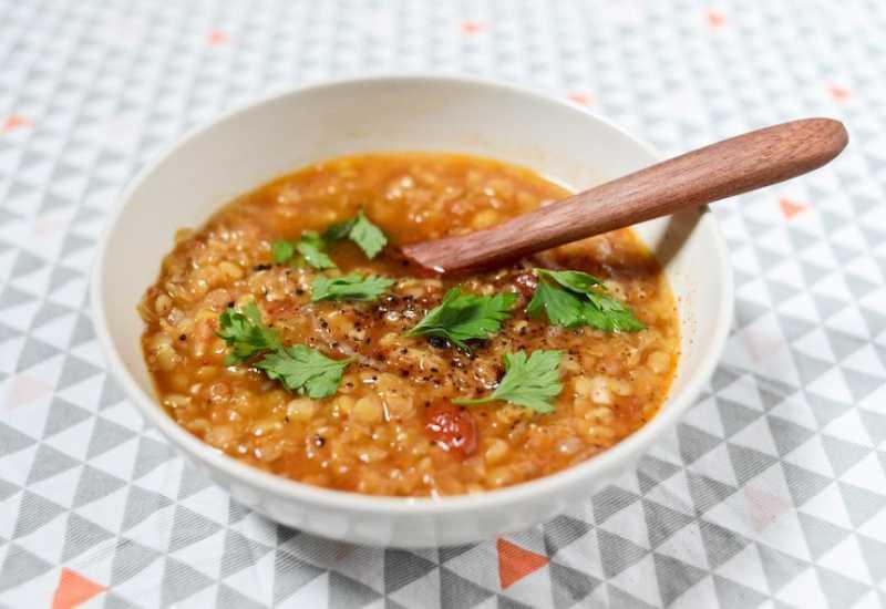 """tounsia.Net : soupe aux lentilles """"chorbet 3dass"""""""