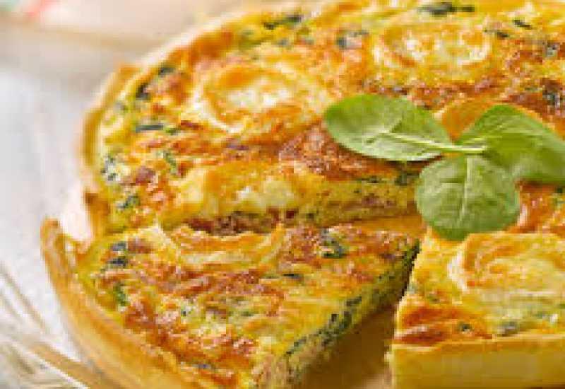 tounsia.Net : tarte aux épinards et à la ricotta