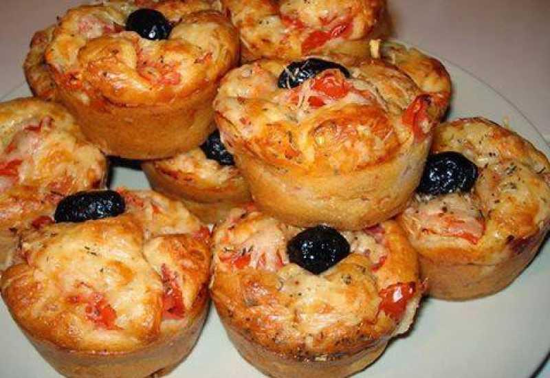 tounsia.Net : Muffins façon pizza