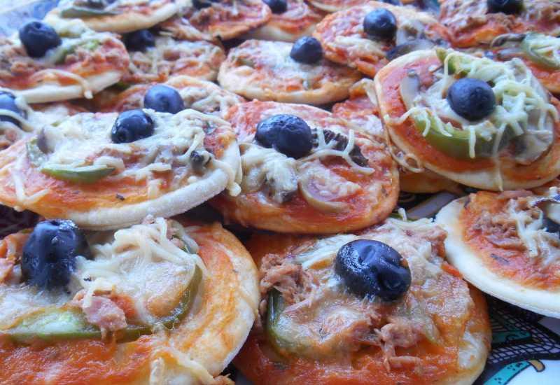tounsia.Net : Mini Pizza au thon pour les enfants