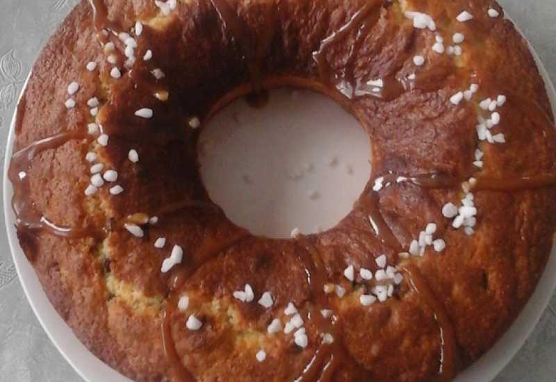 tounsia.Net : Gâteau au yaourt et aux pépites de chocolat