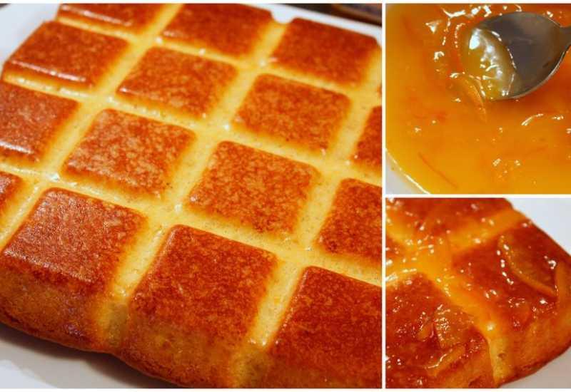 """tounsia.Net : Gâteau à l'orange """" khobzet borgden"""""""