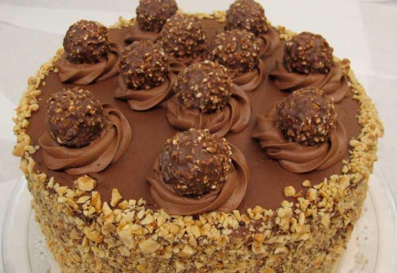 tounsia.Net : Gâteau chocolat noisette