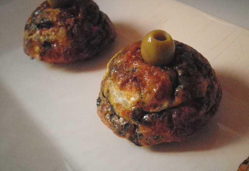 tounsia.Net : Tajine aux viande haché, épinard, ricotte