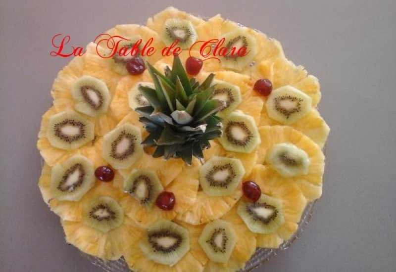 tounsia.Net : Carpaccio d'ananas