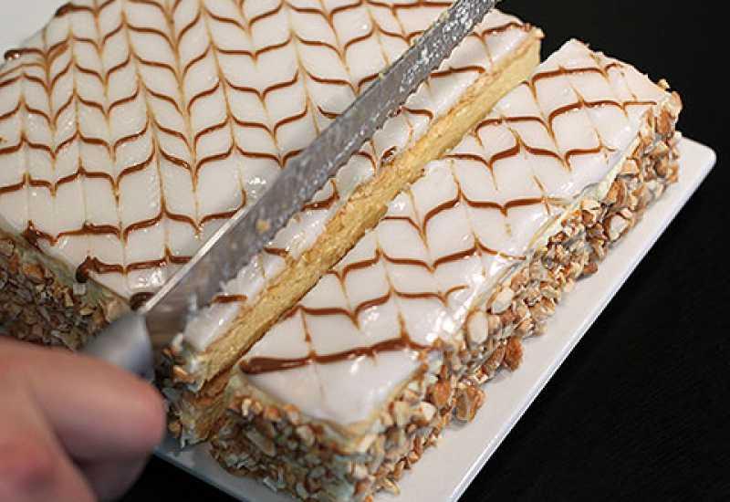 tounsia.Net : Millefeuille classique à la vanille