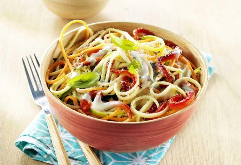 tounsia.Net : Spaghettis aux légumes