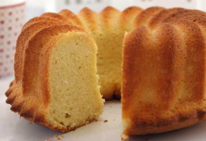 tounsia.Net : Gâteau au fromage blanc et fleur d'oranger