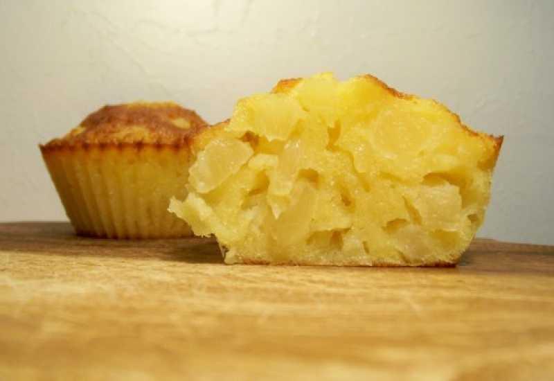 tounsia.Net : Muffins à l'ananas