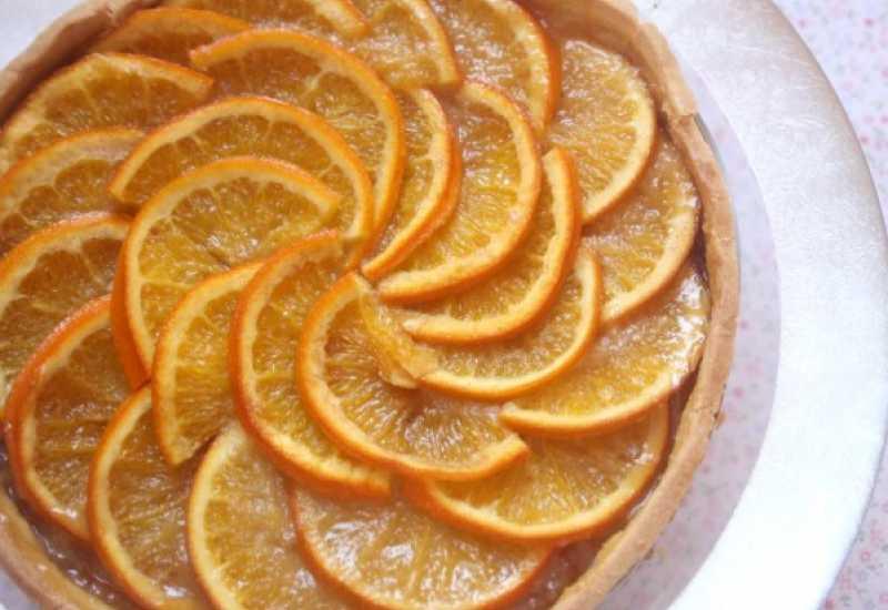 tounsia.Net : Tarte d'orange