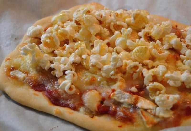tounsia.Net : pizza au pop-corn