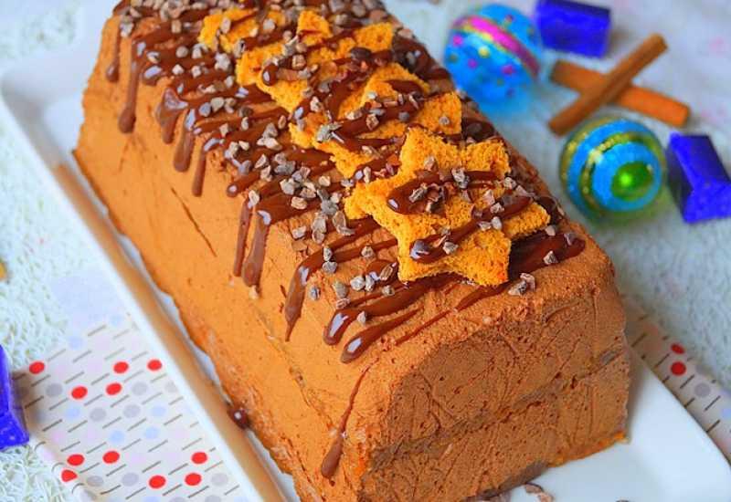 tounsia.Net : Bûche au chocolat et pain d'épices