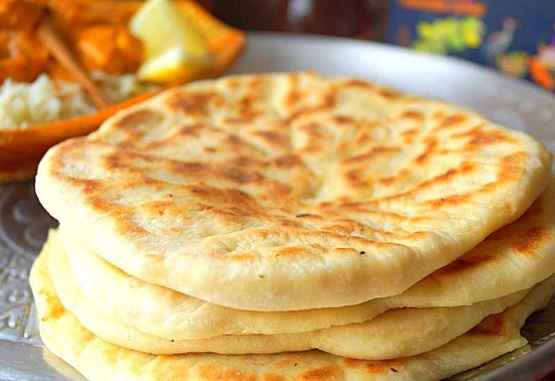 tounsia.Net : Cheese naan (pain indien au fromage)