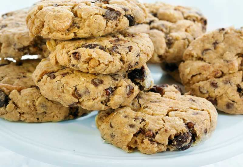 tounsia.Net : Biscuits aux raisins secs