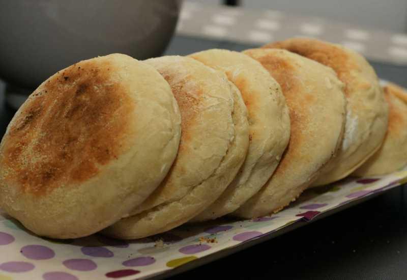 tounsia.Net : Muffins anglais (Pain anglais)