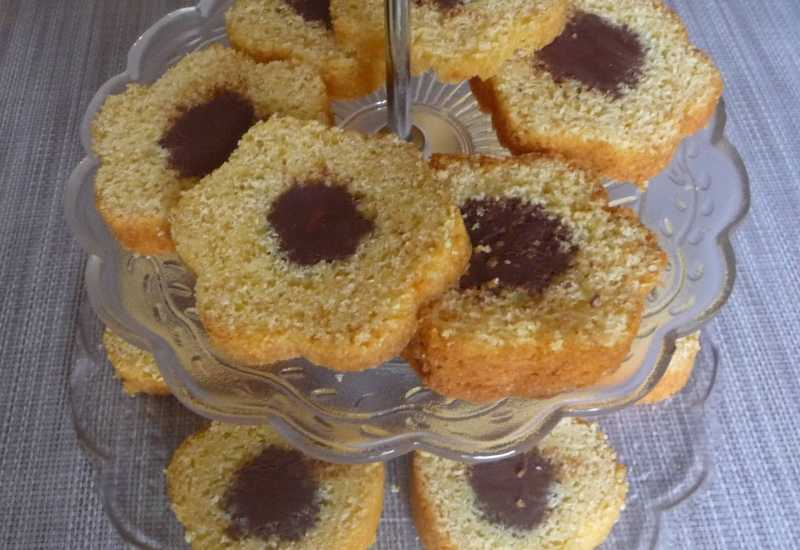 tounsia.Net : Cake vanille cœur fondant au chocolat