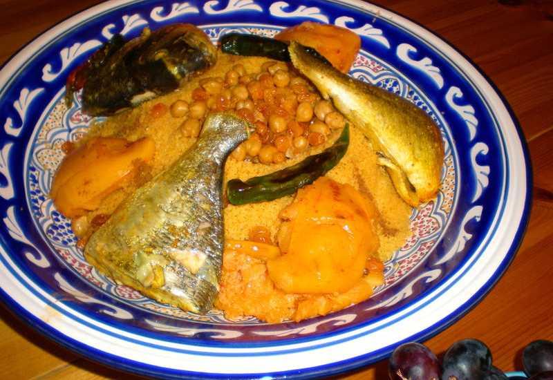 tounsia.Net : Couscous au poisson (bel manani)
