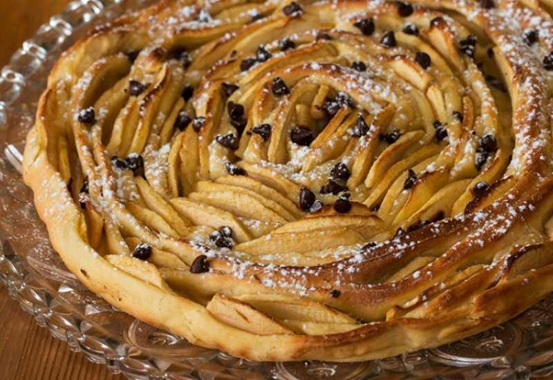 tounsia.Net : Tarte briochée aux pommes, en spirale