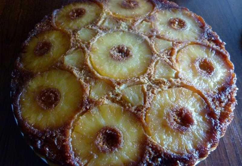 tounsia.Net : Gâteau renversé à l'ananas