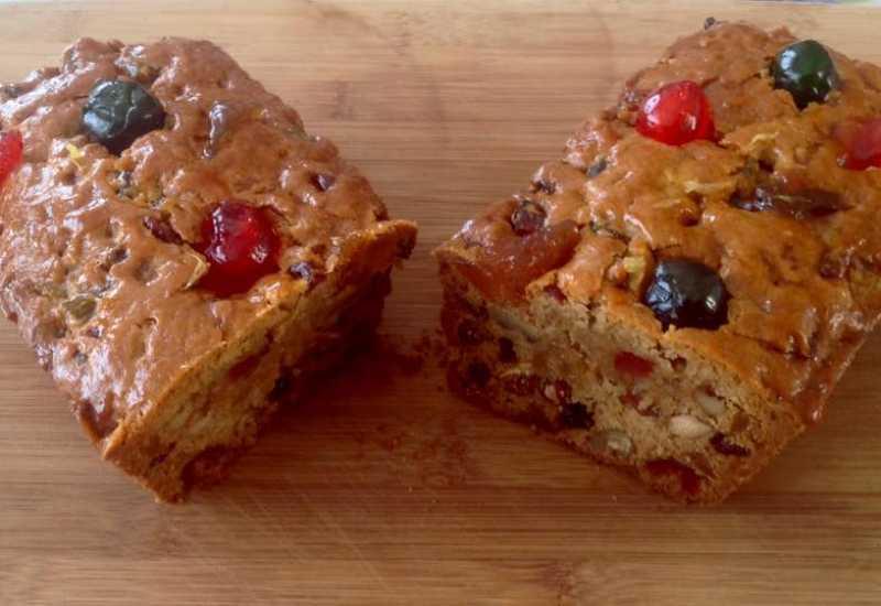 tounsia.Net : Cake aux fruits confits et fruits secs