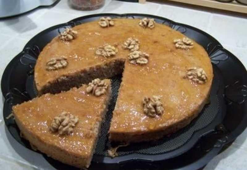 tounsia.Net : Gâteau moelleux aux noix