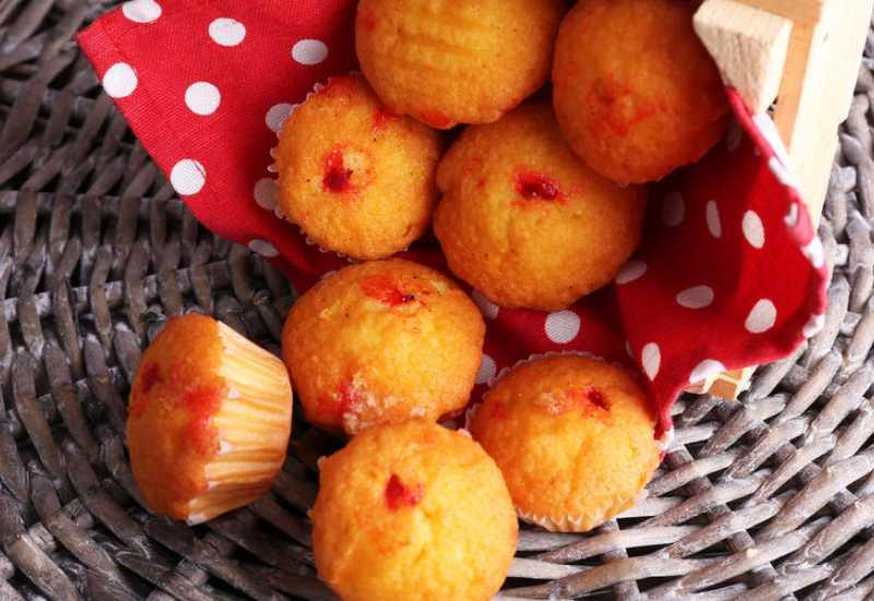 tounsia.Net : Muffins à la confiture de fraise