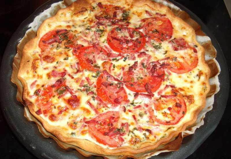 tounsia.Net : Tarte aux thon, tomate et mozzarella