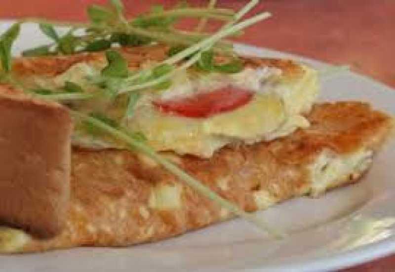 tounsia.Net : Omelette au gouda et aux légumes