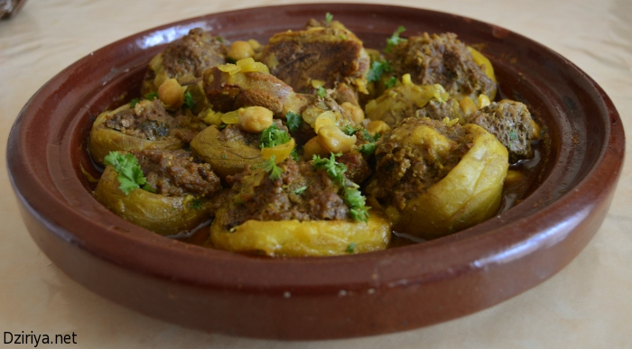 Recette de plat principal tajine d 39 artichauts farcis for Dicor de cuisine algerienne