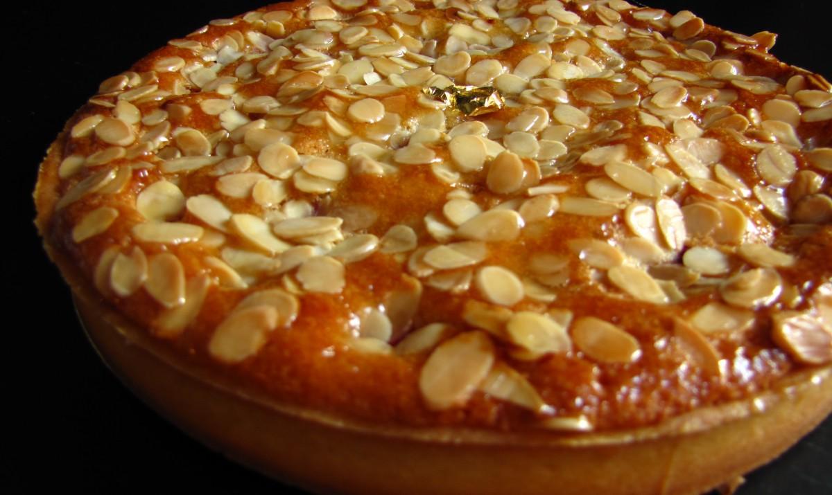 recette de p 226 tisserie tarte amandine de la cuisine tunisienne